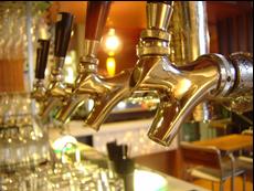Установка оборудования для розлива пива из кег